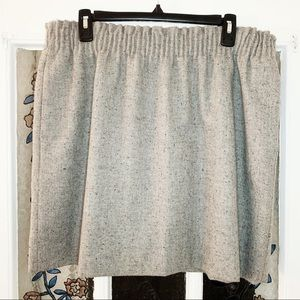 J. Crew Wool Skirt- Gray Speckle